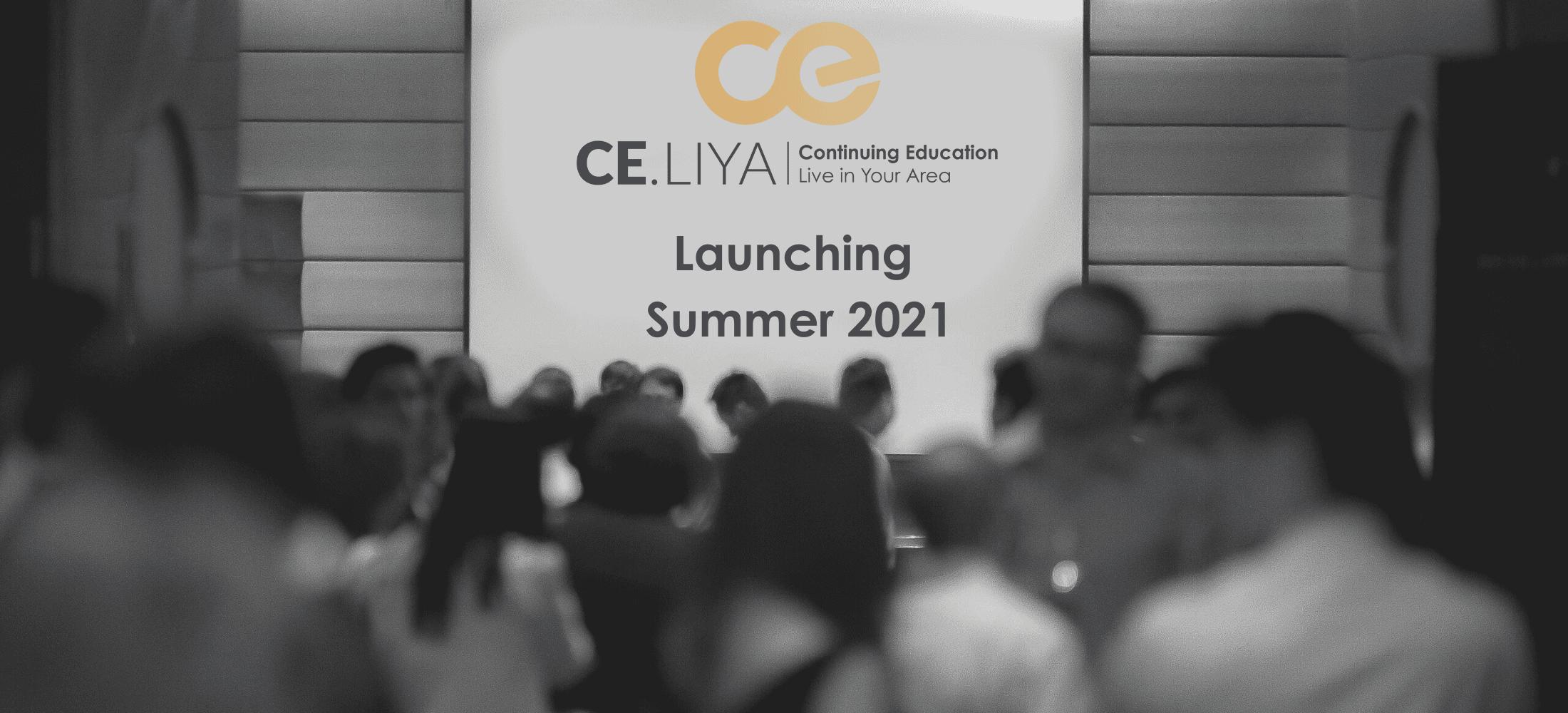CE.LIYA Launching Summer 2021